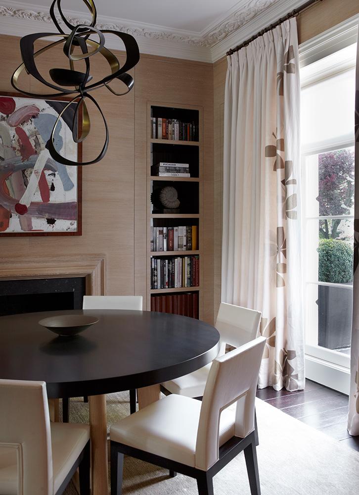 INTERIOR DESIGN LONDON HOUSES KNIGHTSBRIDGE